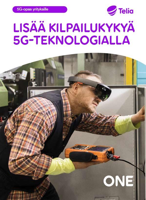 5G-opas Lisää kilpailukykyä 5G-teknologialla