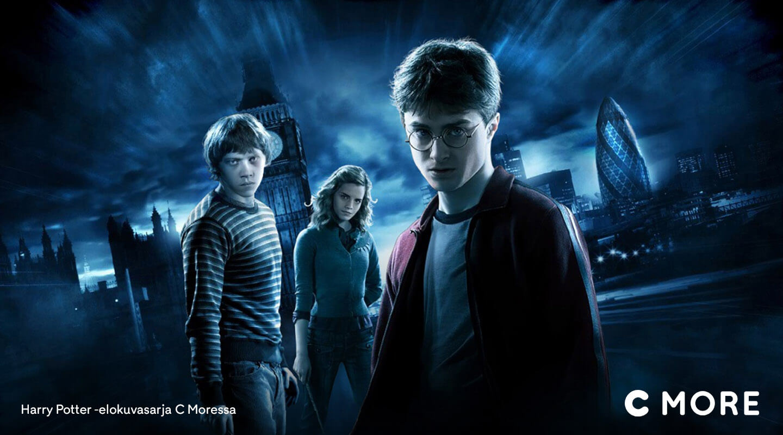 Harry Potter -elokuvat C Moressa