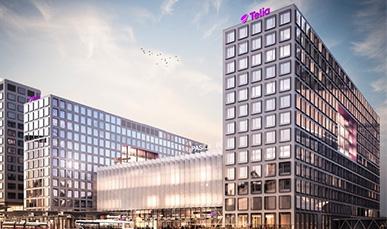 Telia Finland muuttaa Helsingissä sijaitsevan pääkonttorinsa Vallilasta Pasilan Tripla-keskukseen maaliskuussa 2020.