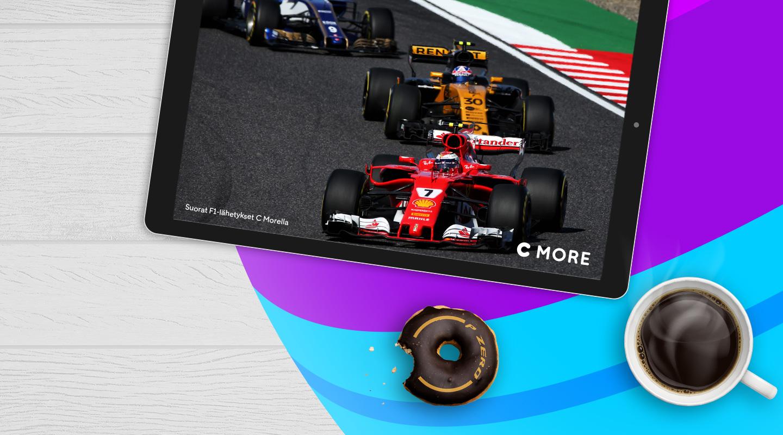 C More Sport – Formula 1